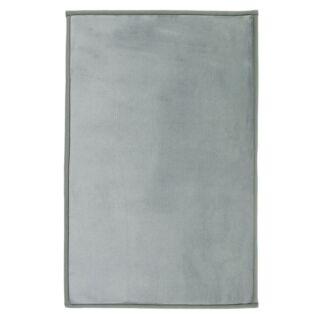 Tapis Flanelle extra doux gris nuage 60x90cm