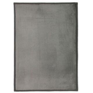 Tapis extra doux gris 120x170cm FLANELLE