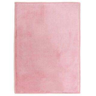 Tapis extra doux rose poudré 120x170cm Flanelle