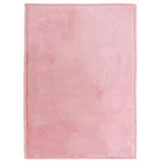 Tapis extra doux rose poudré 120x60cm Flanelle