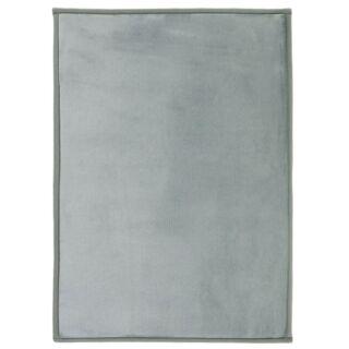 Tapis extra doux gris nuage 120x170cm Flanelle