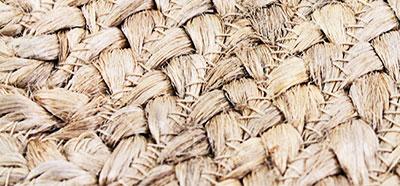 tapis jute&bambou